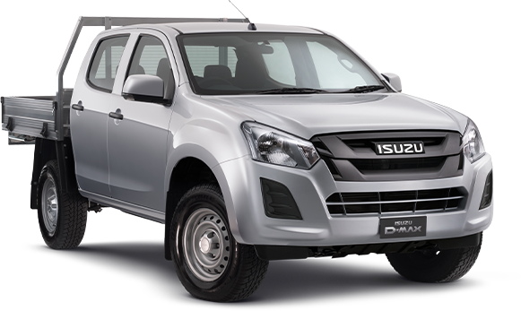 D-MAX 4X2 SX CREW CAB CHASSIS