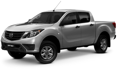 New-Look Mazda BT-50 4x2 Dual Cab XT Pickup