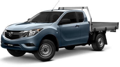 Mazda BT-50 4x4 Freestyle Cab XT Cab Chassis