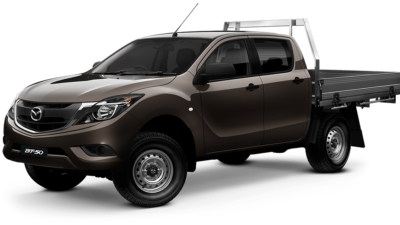 Mazda BT-50 Dual Cab XT Cab Chassis