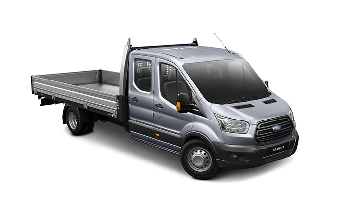 Transit 470E Double Cab Chassis