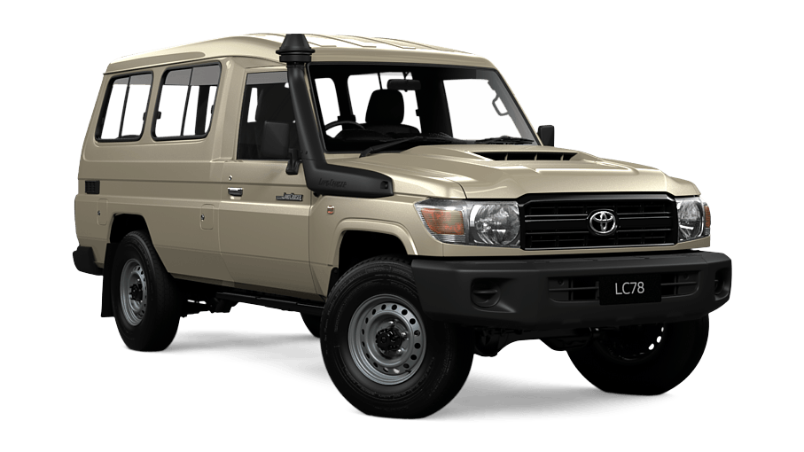 LandCruiser70 WorkMate Troop Carrier