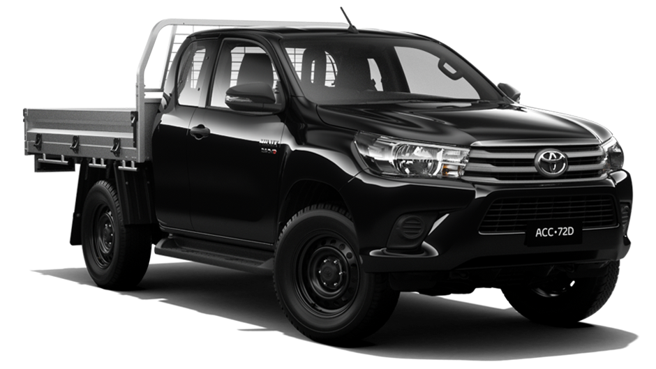 HiLux SR 4x4 Extra-Cab Cab-Chassis