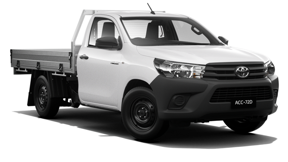 HiLux WorkMate 4x2 Single-Cab Cab-Chassis