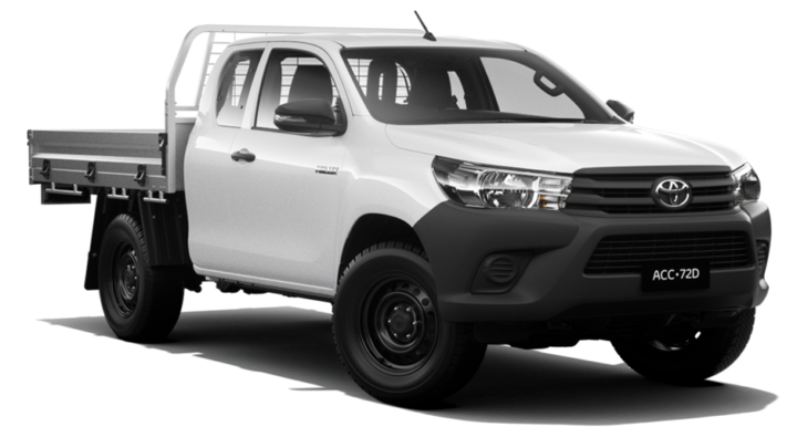 HiLux WorkMate 4x4 Extra-Cab Cab-Chassis