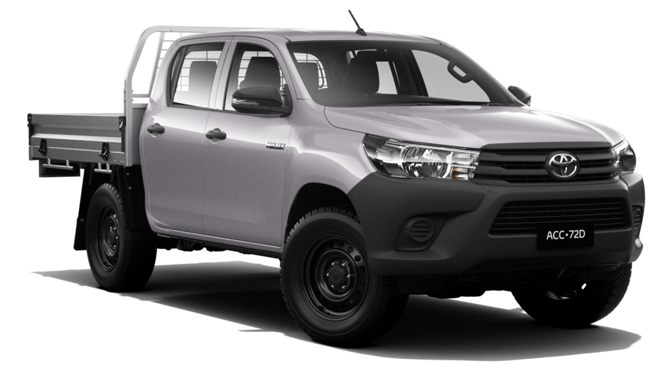WorkMate 4x4 Double-Cab Cab-Chassis