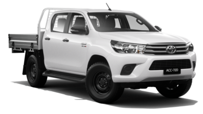 HiLux SR 4x4 Double-Cab Cab-Chassis