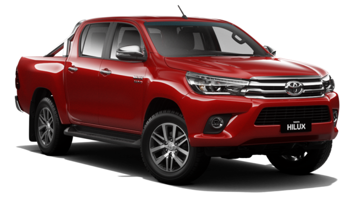HiLux SR5 4x2 Hi-Rider Double-Cab Pick-Up