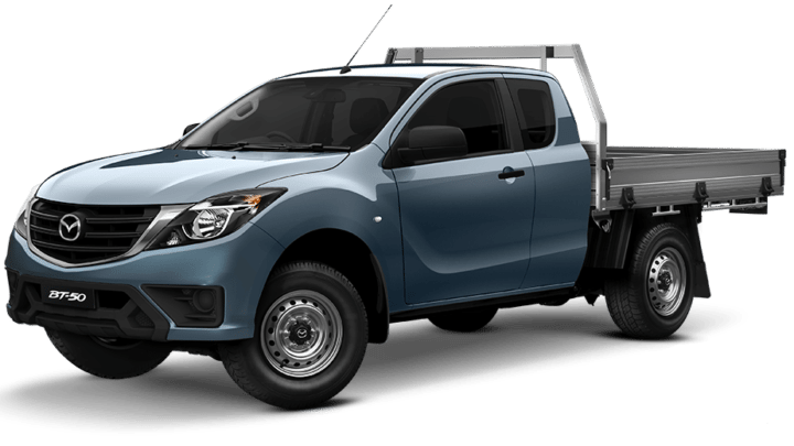 NEW-LOOK Mazda BT-50 4x4 Freestyle Cab XT Cab Chassis