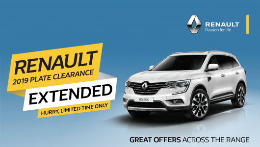 Great Clearance Deals Across The MY19 Koleos Range