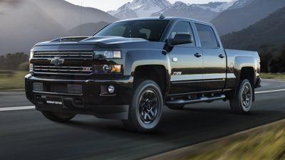 Chevrolet Silverado.