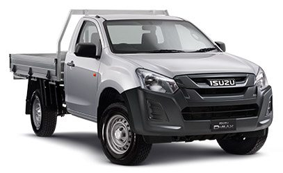 D-MAX 4X4 EX SINGLE CAB CHASSIS