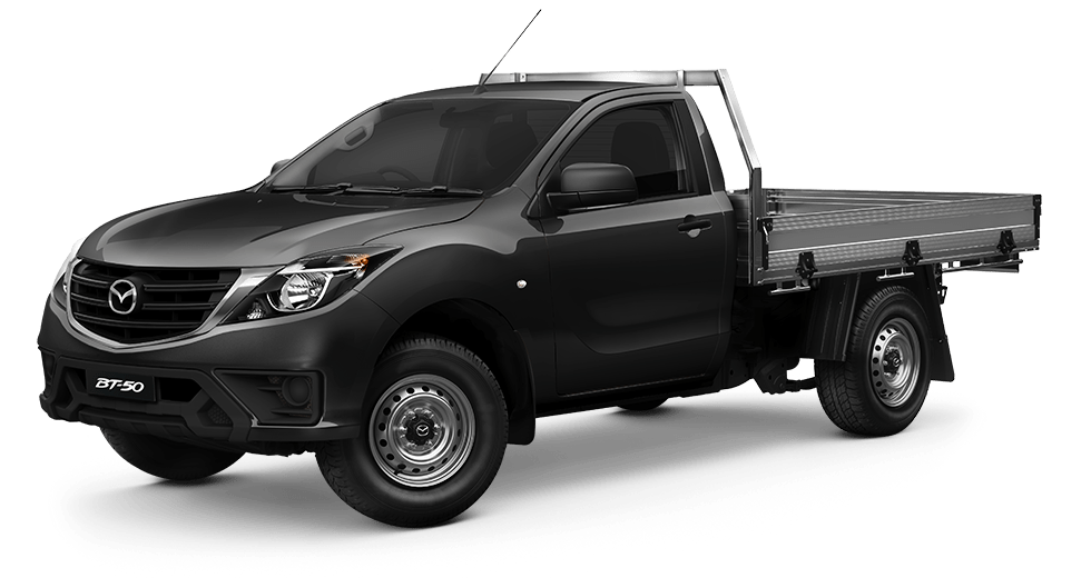 NEW-LOOK BT-50 Single Cab  4x4 XT with tray