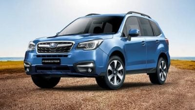 2018 Forester model run out