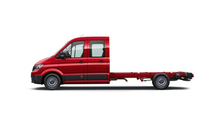 Crafter Cab Chassis - Dual Cab