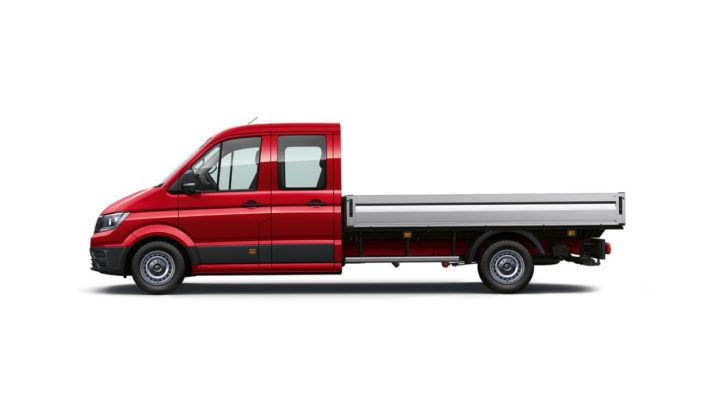 Crafter Cab Chassis - Dual Cab with Tray