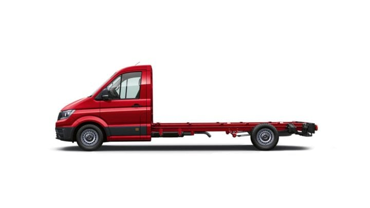 Crafter Cab Chassis - Single Cab