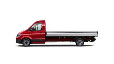 Crafter Cab Chassis - Single Cab with Tray