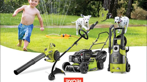 Service and win with Ryobi