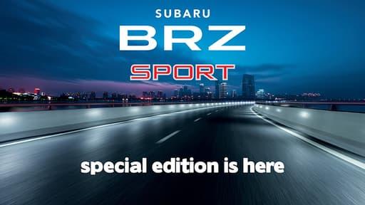BRZ 2.0 Premium Sport¹