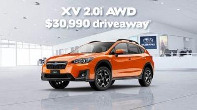 XV 2.0i AWD Driveaway