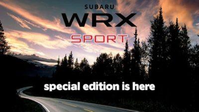WRX 2.0 Premium AWD Sport¹