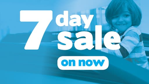 7 Day Sale on Now