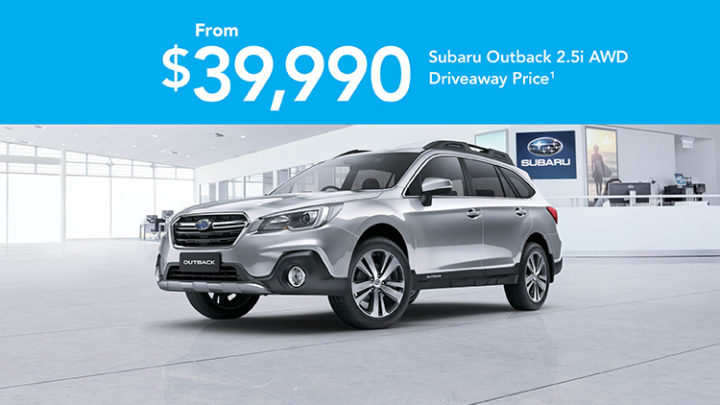 Off the Leash Outback 2.5i AWD Offer