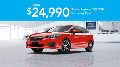 Off the Leash Impreza 2.0i AWD Offer