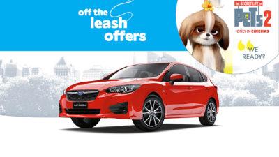 Off the Leash Impreza 2.0i AWD Offer