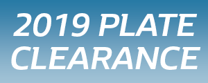 2019 Plate Clearance