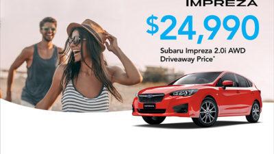 Subaru Impreza 2.0i AWD