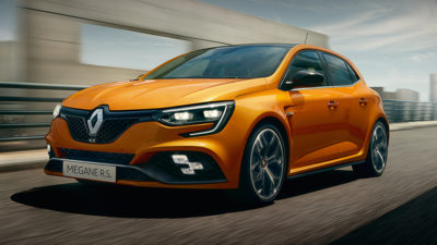 LEARN MORE ABOUT THE MEGANE R.S.