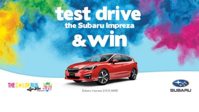 Test Drive the Subaru Impreza & Win!