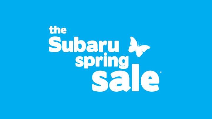 Subaru Spring Sale