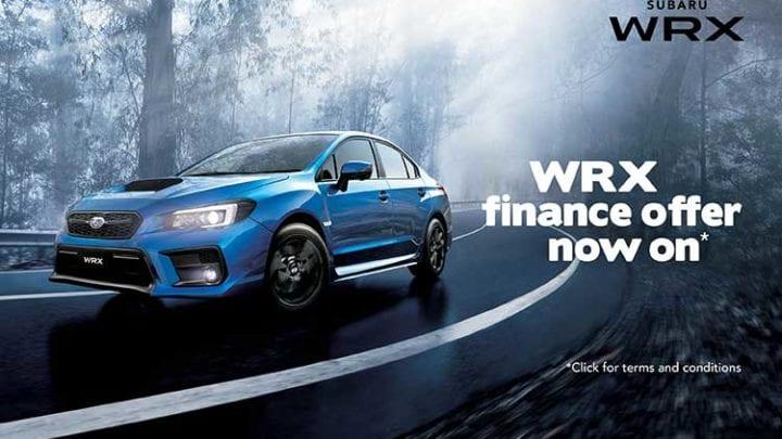 Finance Offer on WRX