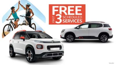ALL-NEW CITROËN C5 AIRCROSS SUV SERVICE OFFER