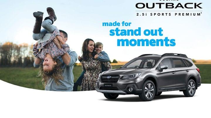Outback 2 5i Sports Premium AWD