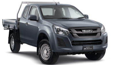 D-MAX 4X4 SX SPACE CAB CHASSIS