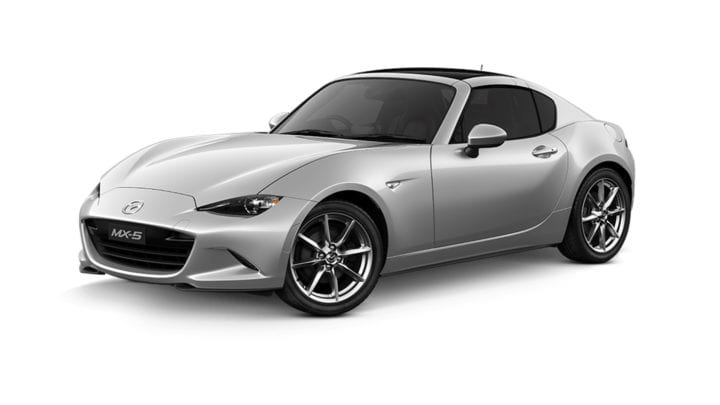 Mazda MX-5 RF GT Black Roof Roadster