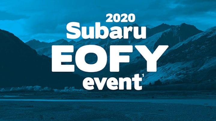 2020 Subaru EOFY Event