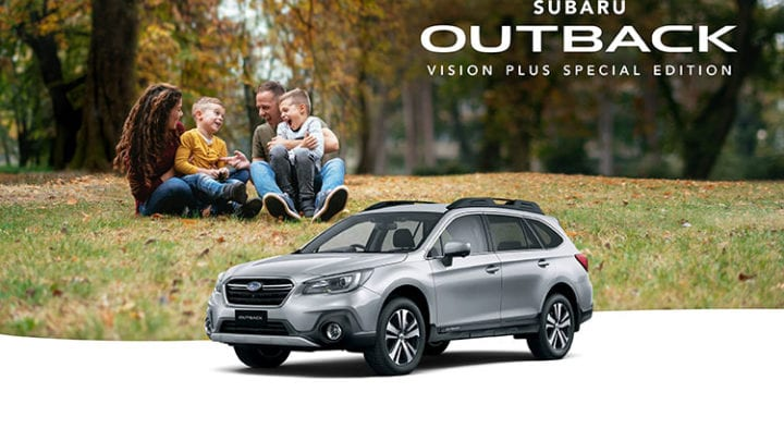 Outback 2.5i AWD Vision Plus Special Edition