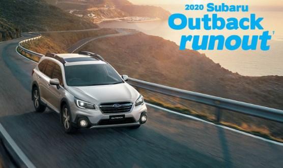 2020 Subaru Outback Runout