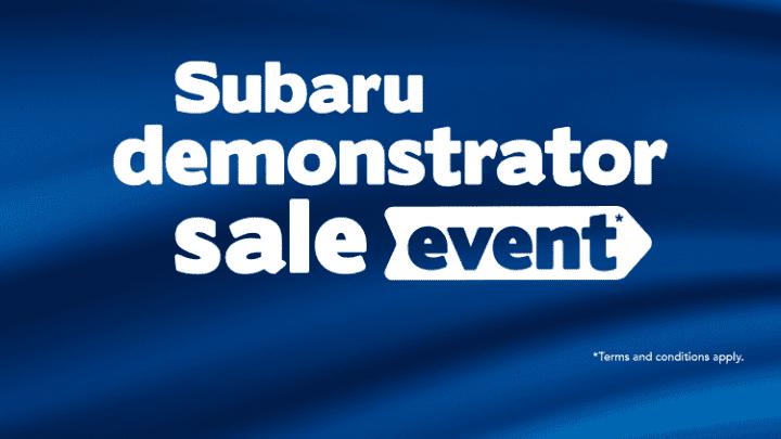November Demonstrator Sales Event