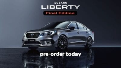 Subaru Liberty Final Edition