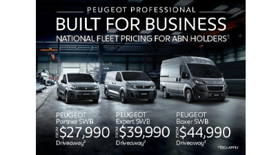 Peugeot Professional - Built for Business