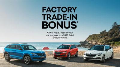 ŠKODA Factory Trade-In Bonus