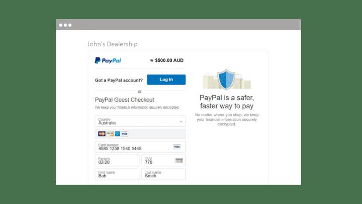 Online Deposits | Dealer Solutions | Automotive Websites