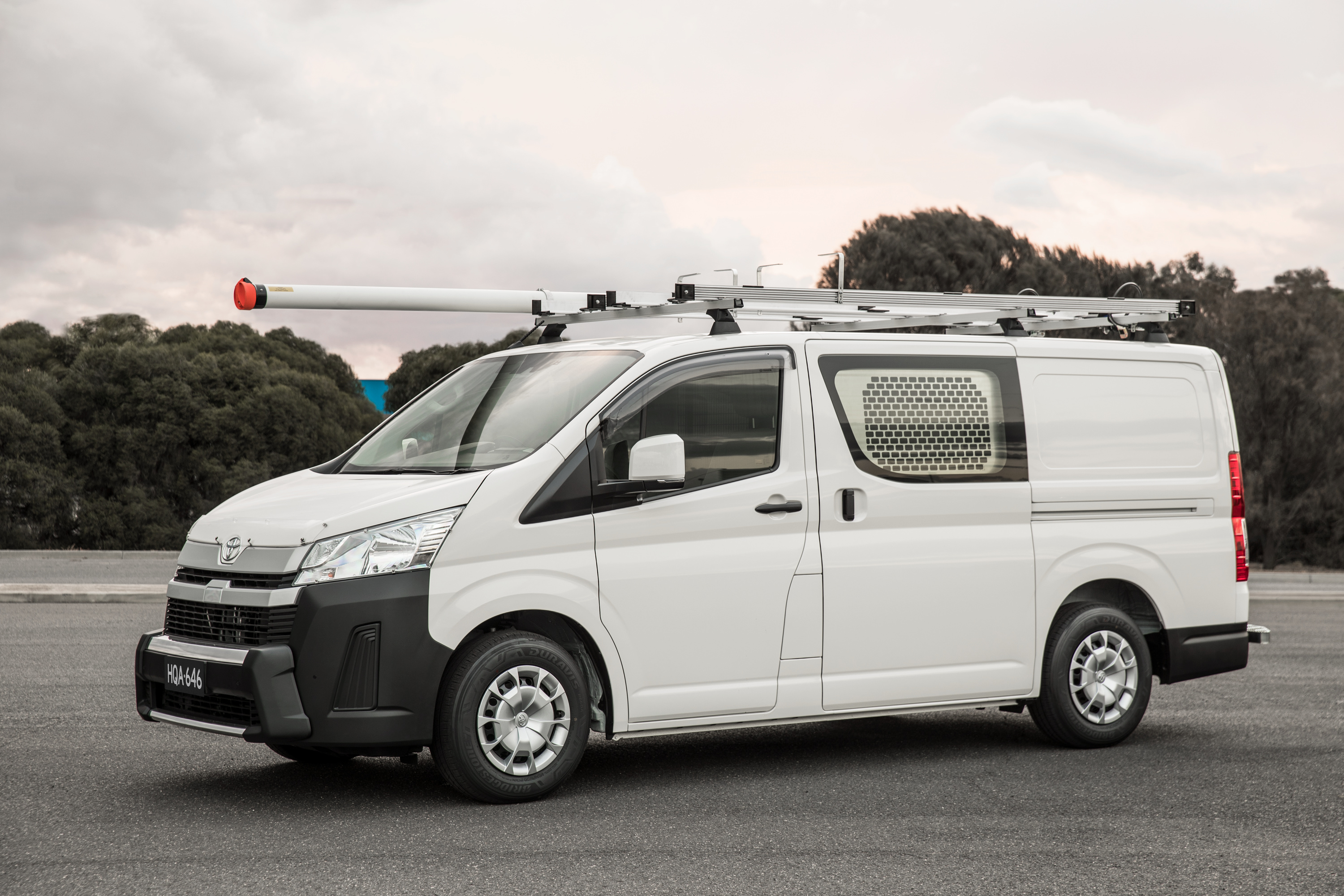 All-New Toyota HiAce delivers the goods - Torque Toyota