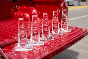 Toyota has won five Australia's Best Car awards